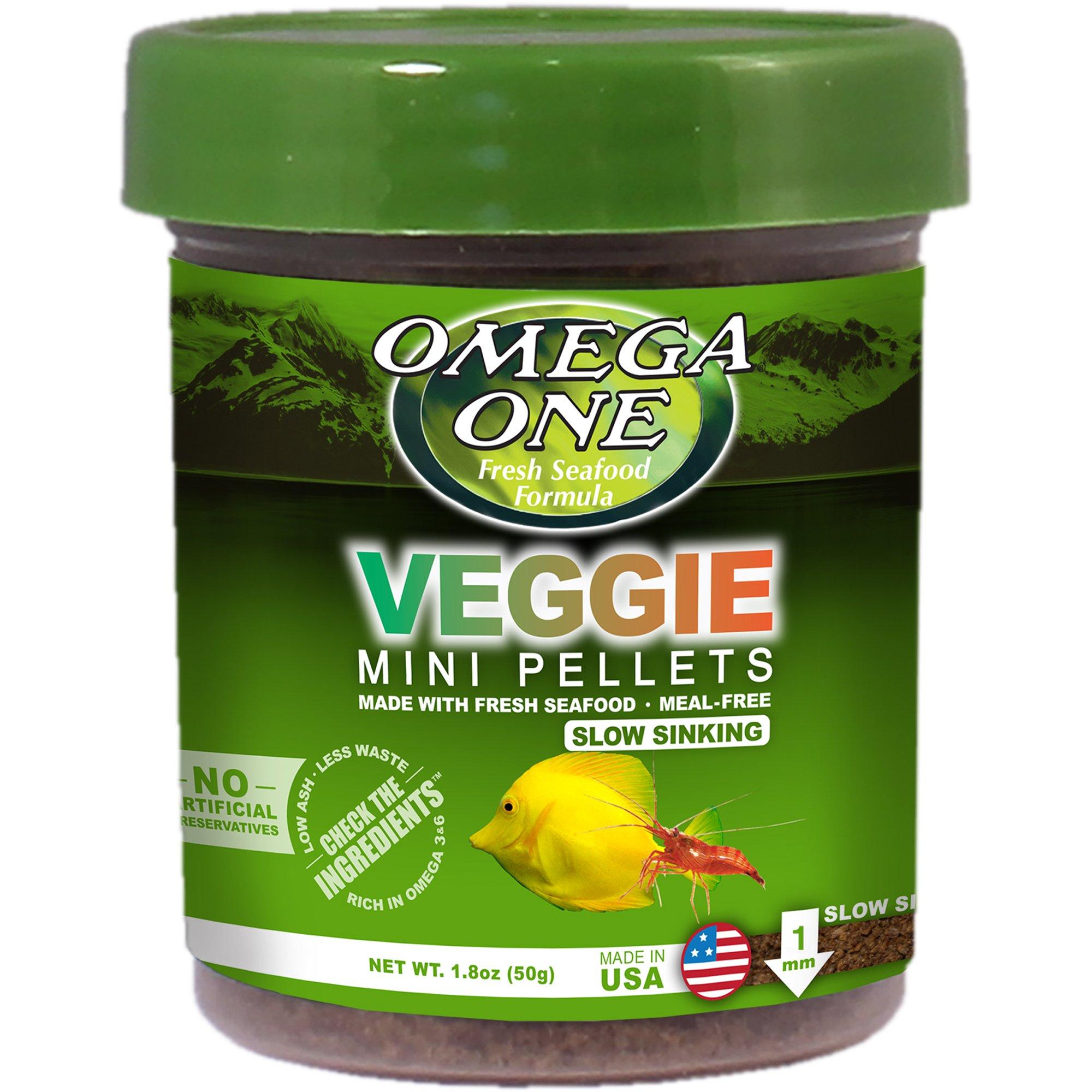Omega One Veggie Micro Pellets