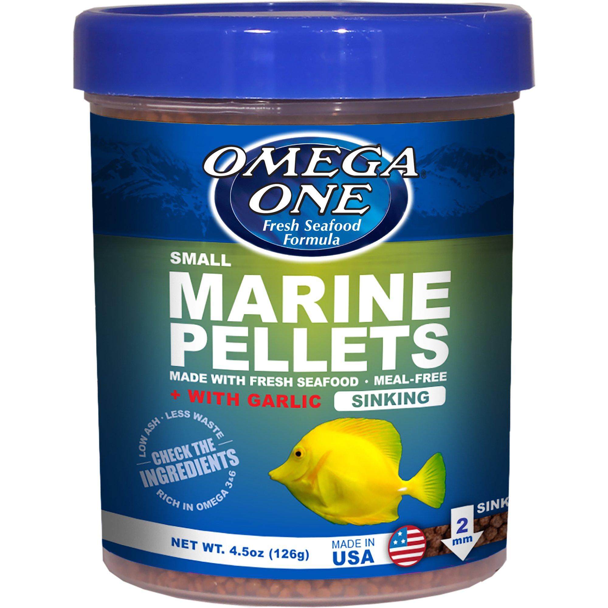 Omega One Garlic Marine Sinking Pellets