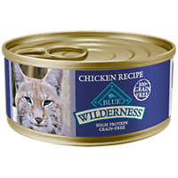 Blue Buffalo Wilderness Chicken Canned Cat Food, 5.5 oz