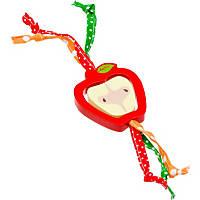 WARE Critter Toys Tug-N-Toss Apple