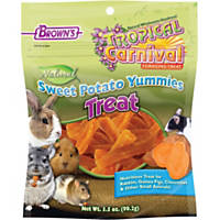 Brown's Tropical Carnival Natural Sweet Potato Yummies Treat