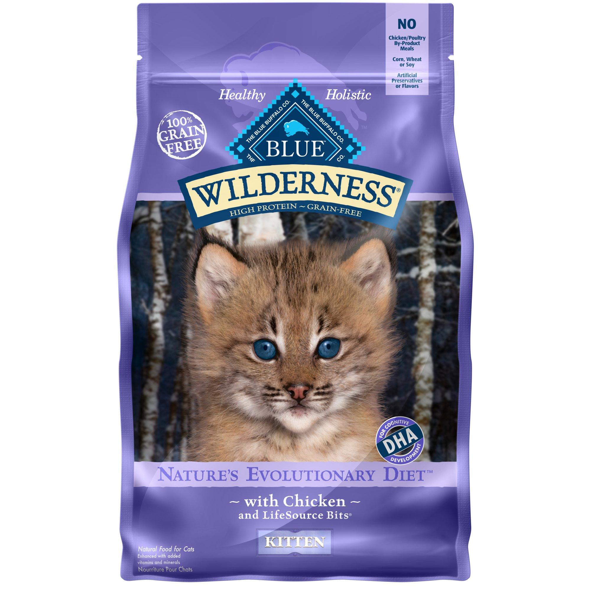 Blue Buffalo Wilderness Grain-Free Kitten Food