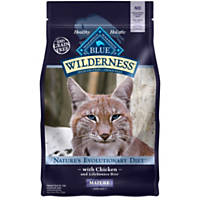 Blue Buffalo Wilderness Grain-Free Mature Cat Food