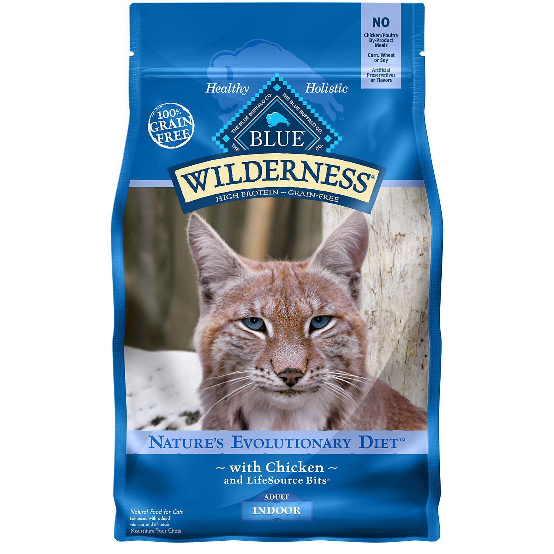 Blue Buffalo Wilderness Indoor Chicken Adult Dry Cat Food, 5