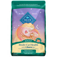 Blue Buffalo Multi-Cat Health Adult Cat Food