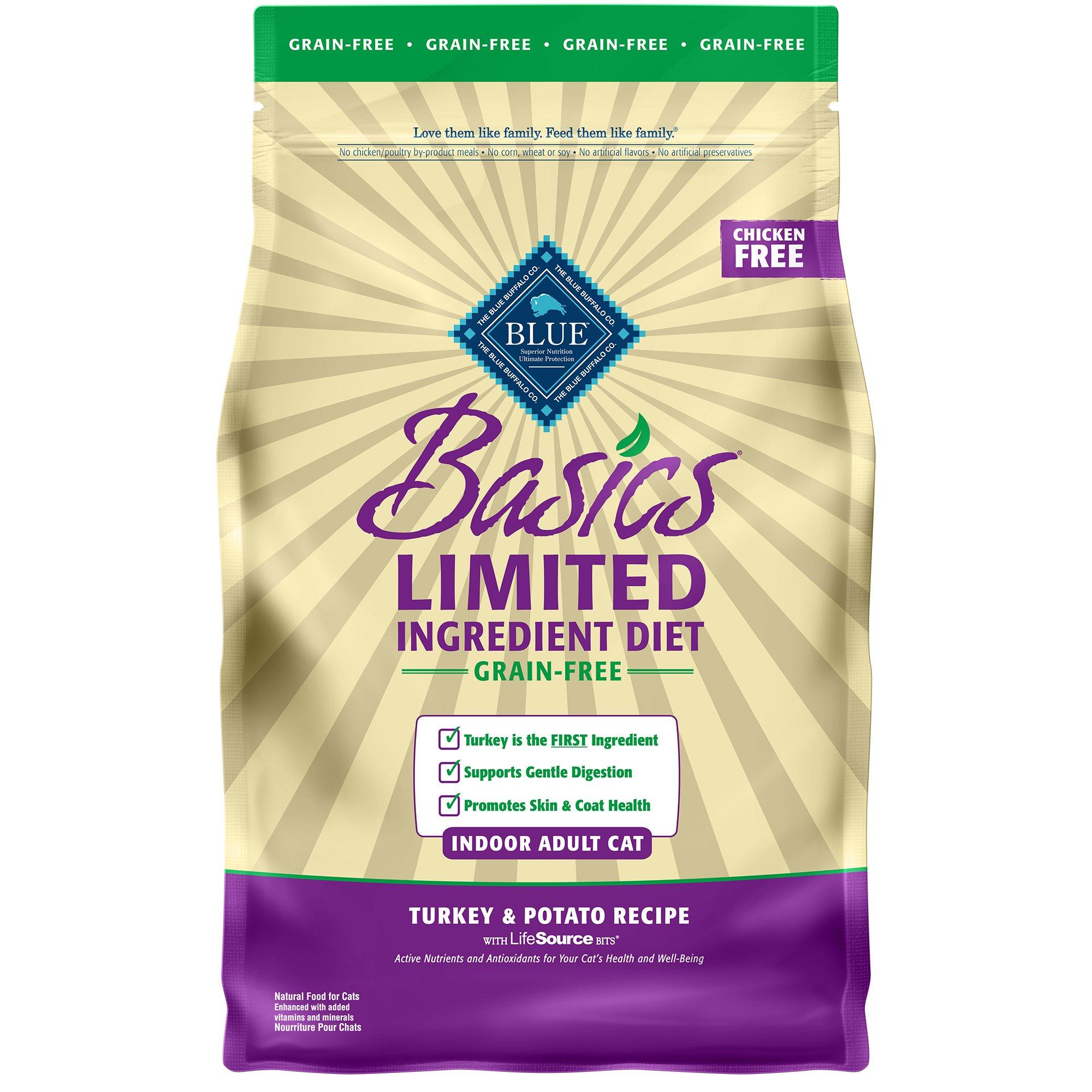 Blue Basics Grain Free Cat Food