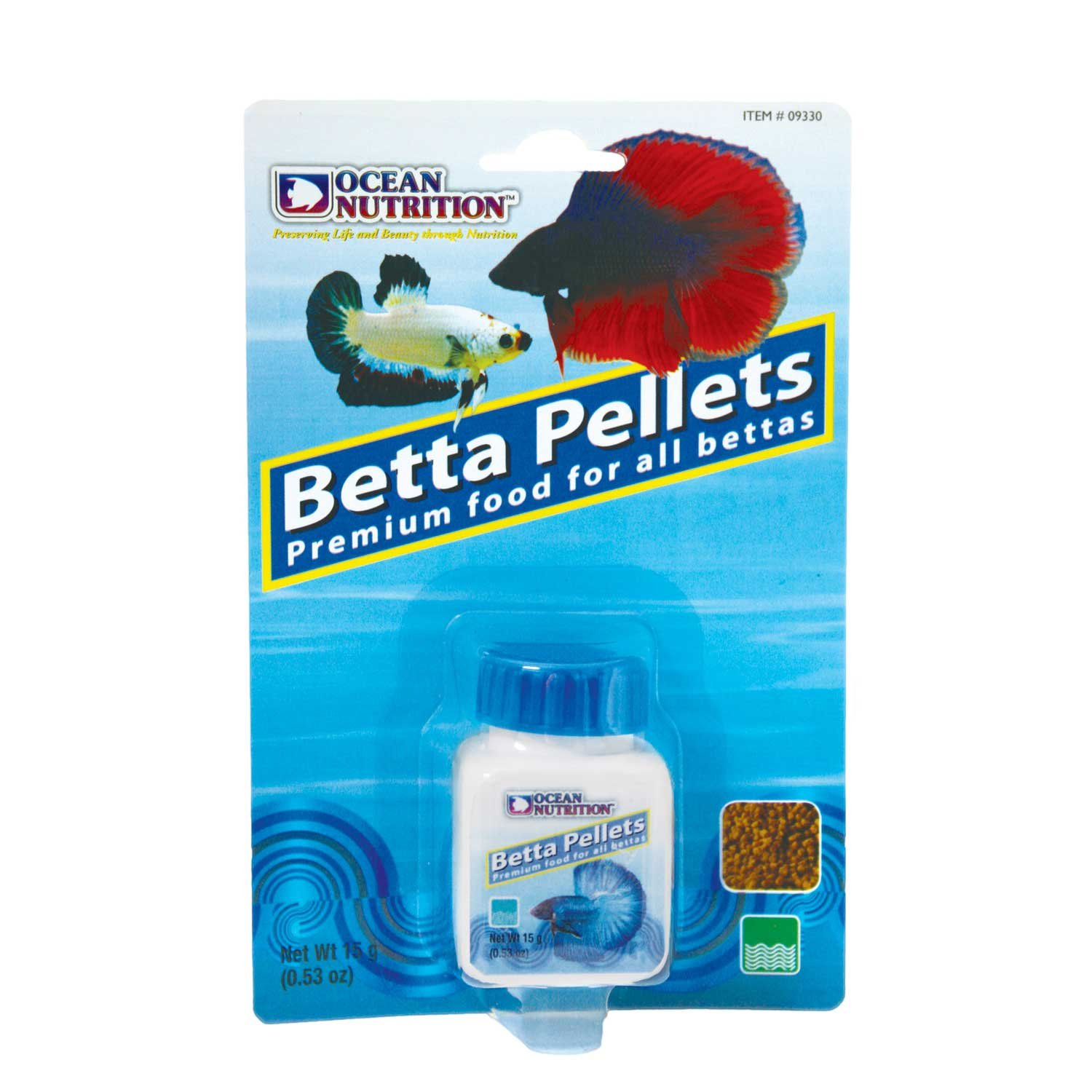 Ocean nutrition betta pellets petco for Types of betta fish petco