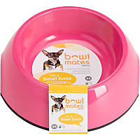 Bowlmates by Petco X-Small Round Base in Pink