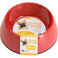 Bowlmates by Petco Small Round Base in Red