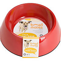 Bowlmates by Petco Medium Round Base in Red