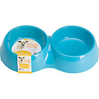 Bowlmates Blue Double Round Base, 3 Cup