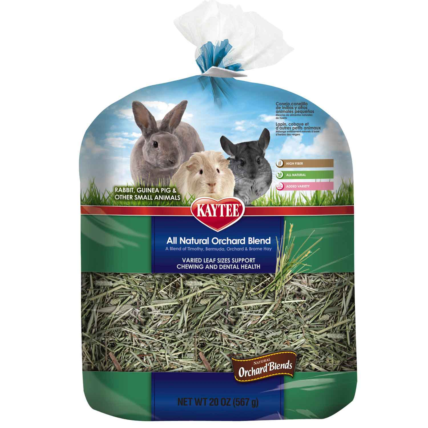 Kaytee All Natural Orchard Blends Dental Hay for Small Animals