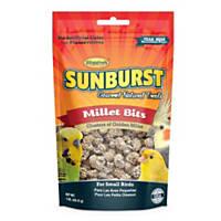 Higgins Sunburst Millet Bits Gourmet Treats for Small Birds