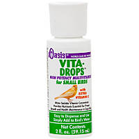 Oasis Vita-Drops Small Bird Multi-Vitamins