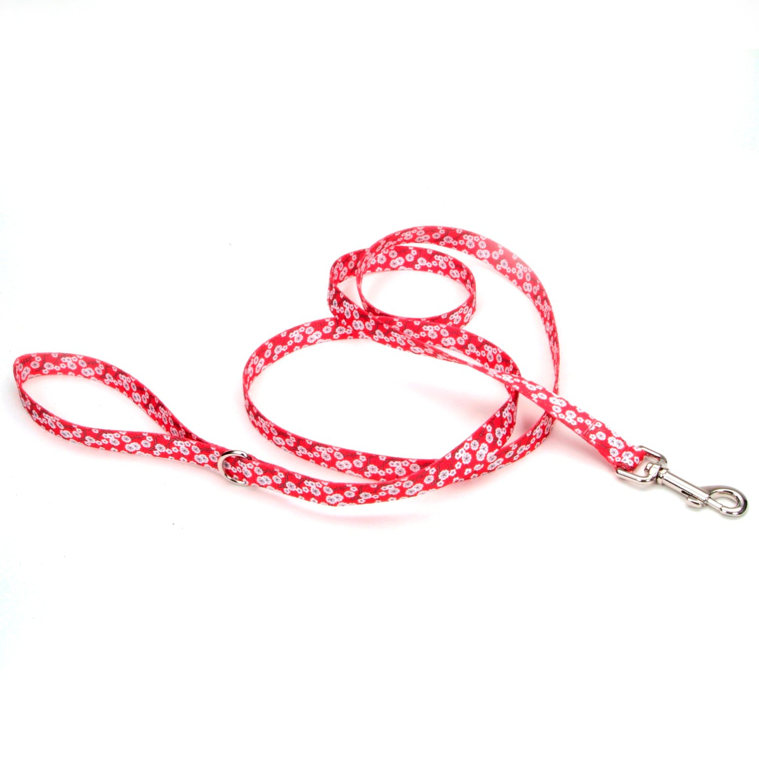 Petco Red Cherry Blossom Dog Leash
