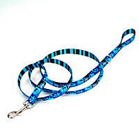 Petco Blue Happy Monster Dog Leash