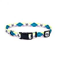 Petco Argyle Star Nylon Adjustable Dog Collar