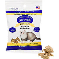 Stewart Pro-Treat Freeze Dried Chicken Liver Ferret Treats