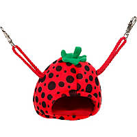 Multipet Strawberry House Small Animal Hideaway