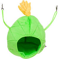 Multipet Pineapple House Small Animal Hideaway in Green