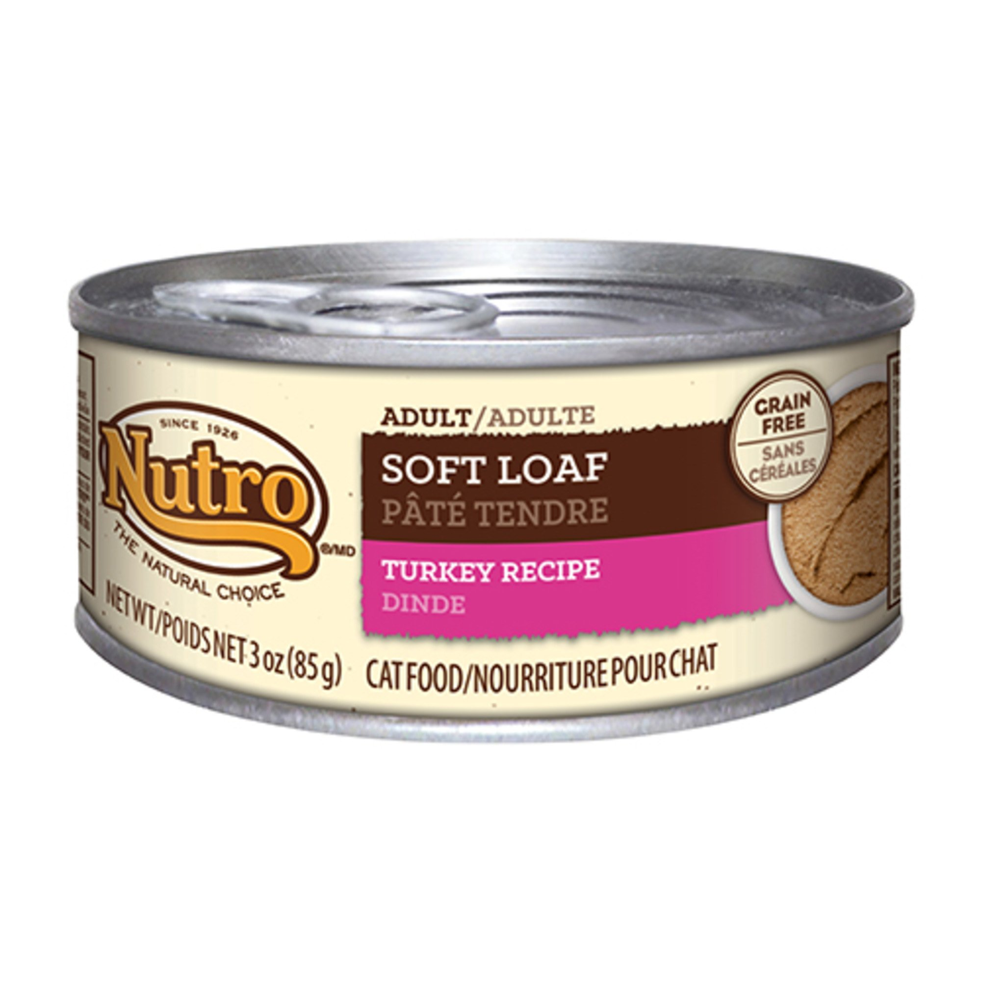 Nutro Soft Loaf Turkey Recipe Canned Adult Cat Food