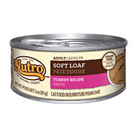 Nutro Natural Choice Soft Loaf Turkey Recipe Canned Adult Cat Food