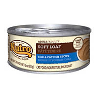 Nutro Natural Choice Soft Loaf Cod & Catfish Recipe Canned Adult Cat Food