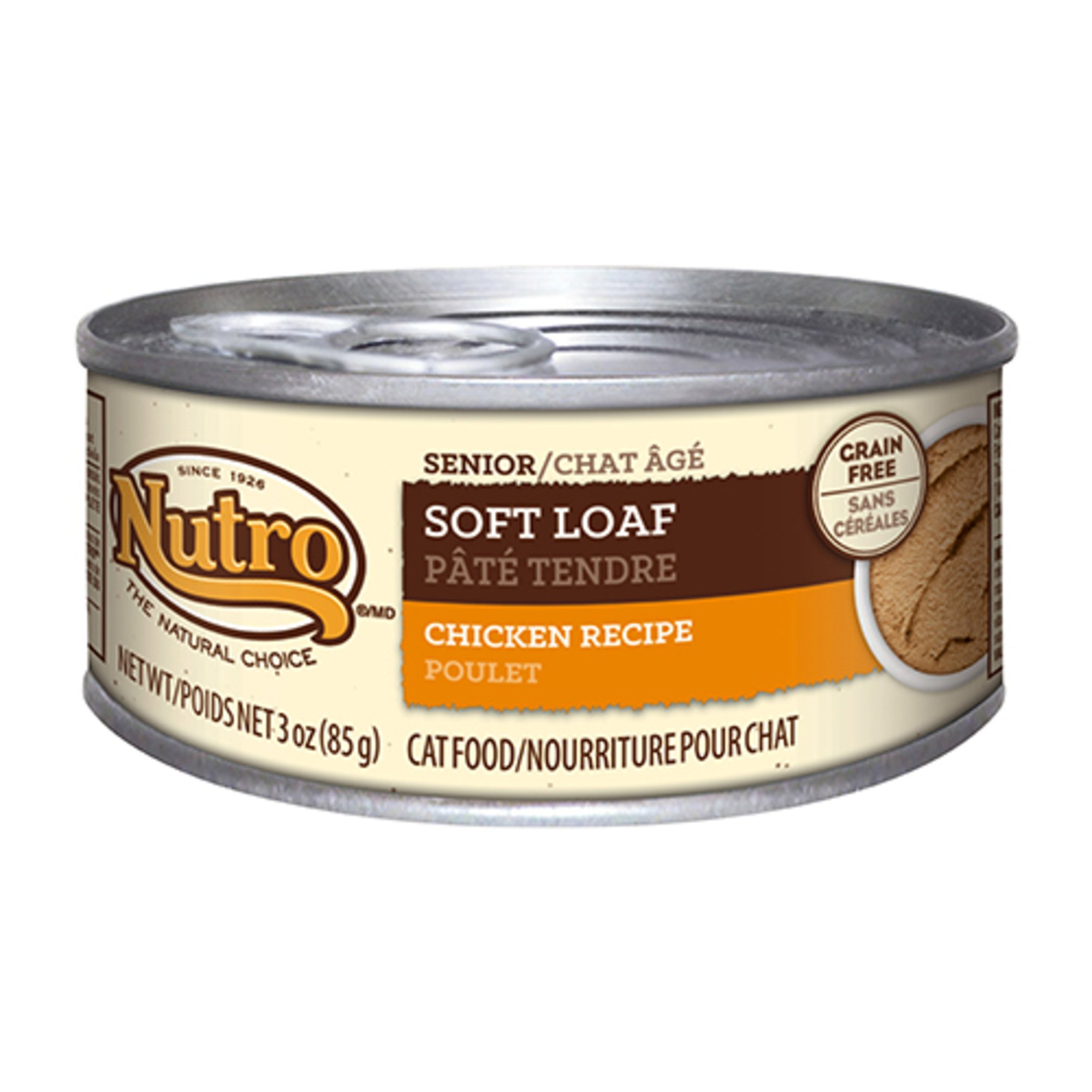 Nutro Soft Loaf Chicken Recipe Canned Senior Cat Food