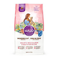 Halo Spot's Stew Healthy Weight Grain Free Whitefish & Salmon Cat Food