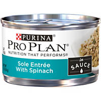 Pro Plan Savor Sole and Spinach Adult Canned Cat Food