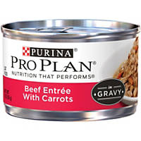 Pro Plan Savor Beef and Carrot Adult Canned Cat Food