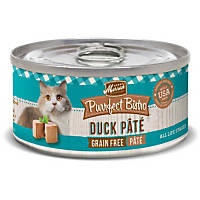 Merrick Purrfect Bistro Grain Free Pate Canned Cat Food, Duck