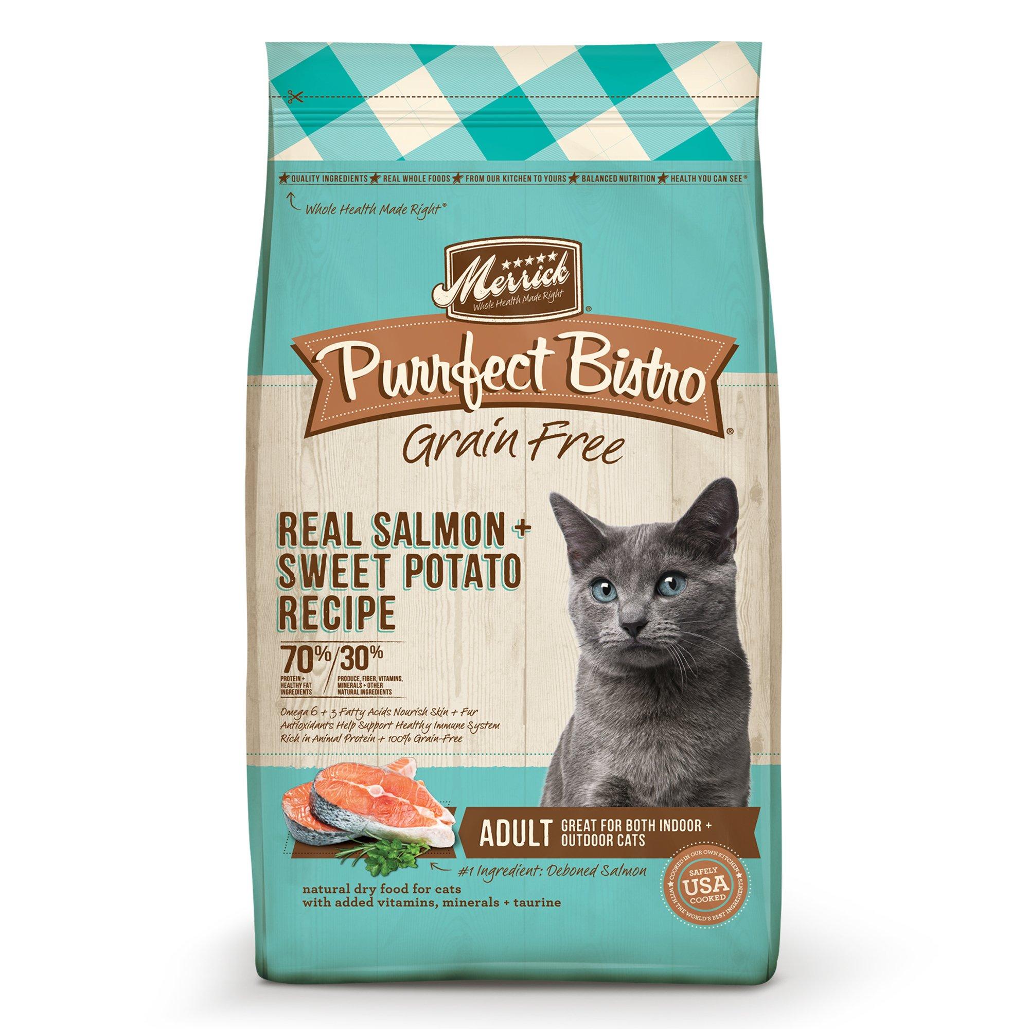 Merrick Purrfect Bistro Grain Free Healthy Salmon Adult Cat Food