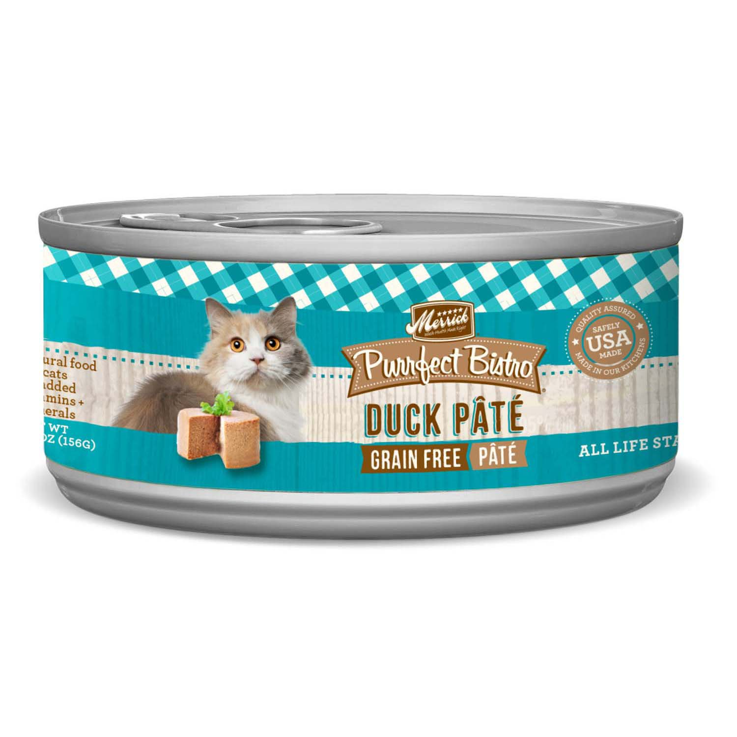 Merrick Purrfect Bistro Grain Free Duck Pate Canned Cat Food | Petco