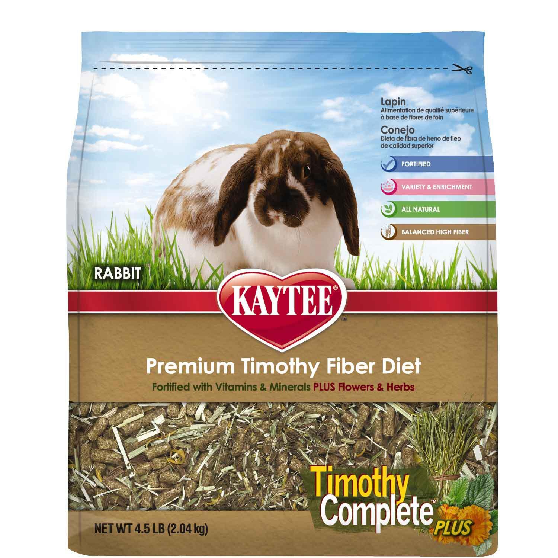 Kaytee Timothy Complete Plus Flowers & Herbs Rabbit Food