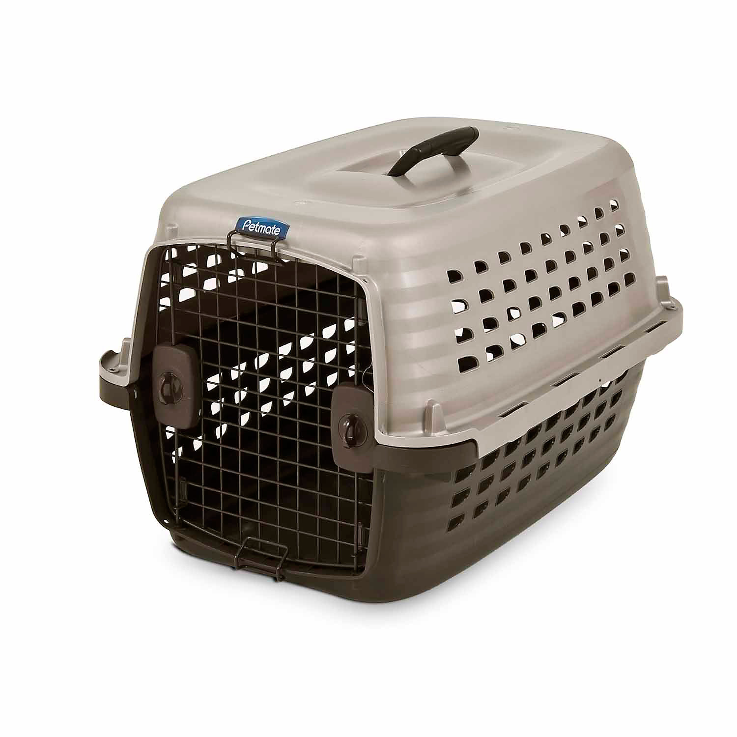 Petmate Navigator Pet Kennel 24.6 L X 16.9 W X 15 H X Small Brown