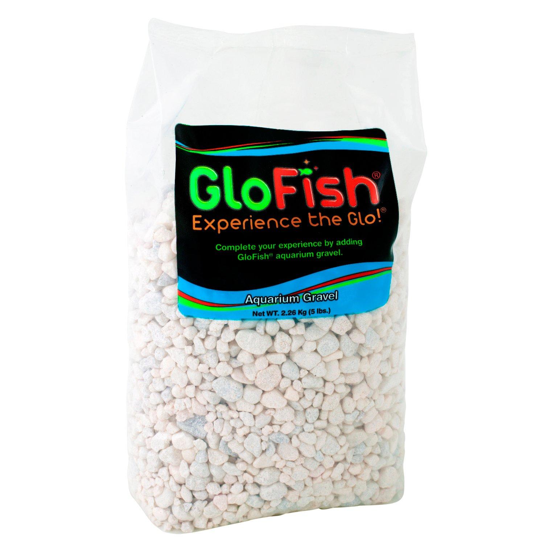 GloFish White Frost Fluorescent Aquarium Gravel