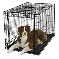 Midwest Ovation Single Door Folding Dog Crate