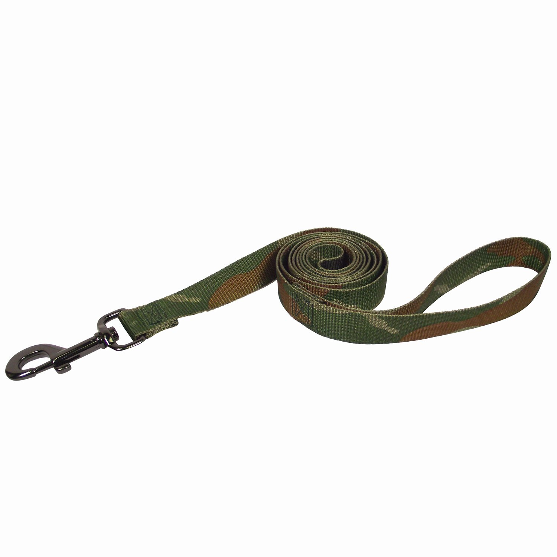 Hamilton Nylon Dog Leash in Camouflage Print