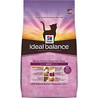 Hill's Ideal Balance Chicken and Brown Rice Adult Cat Food