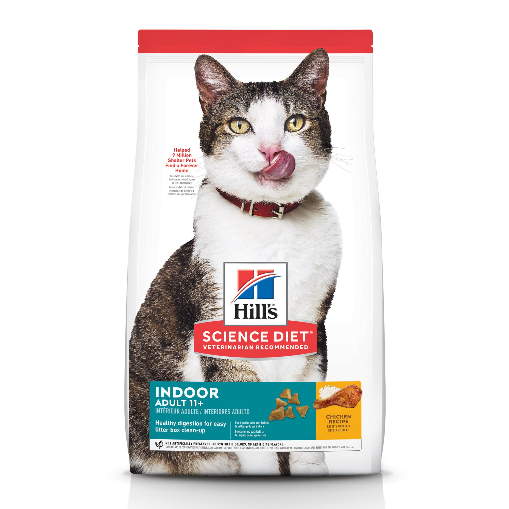 Hill's Science Diet Indoor Age Defying Senior Cat Food