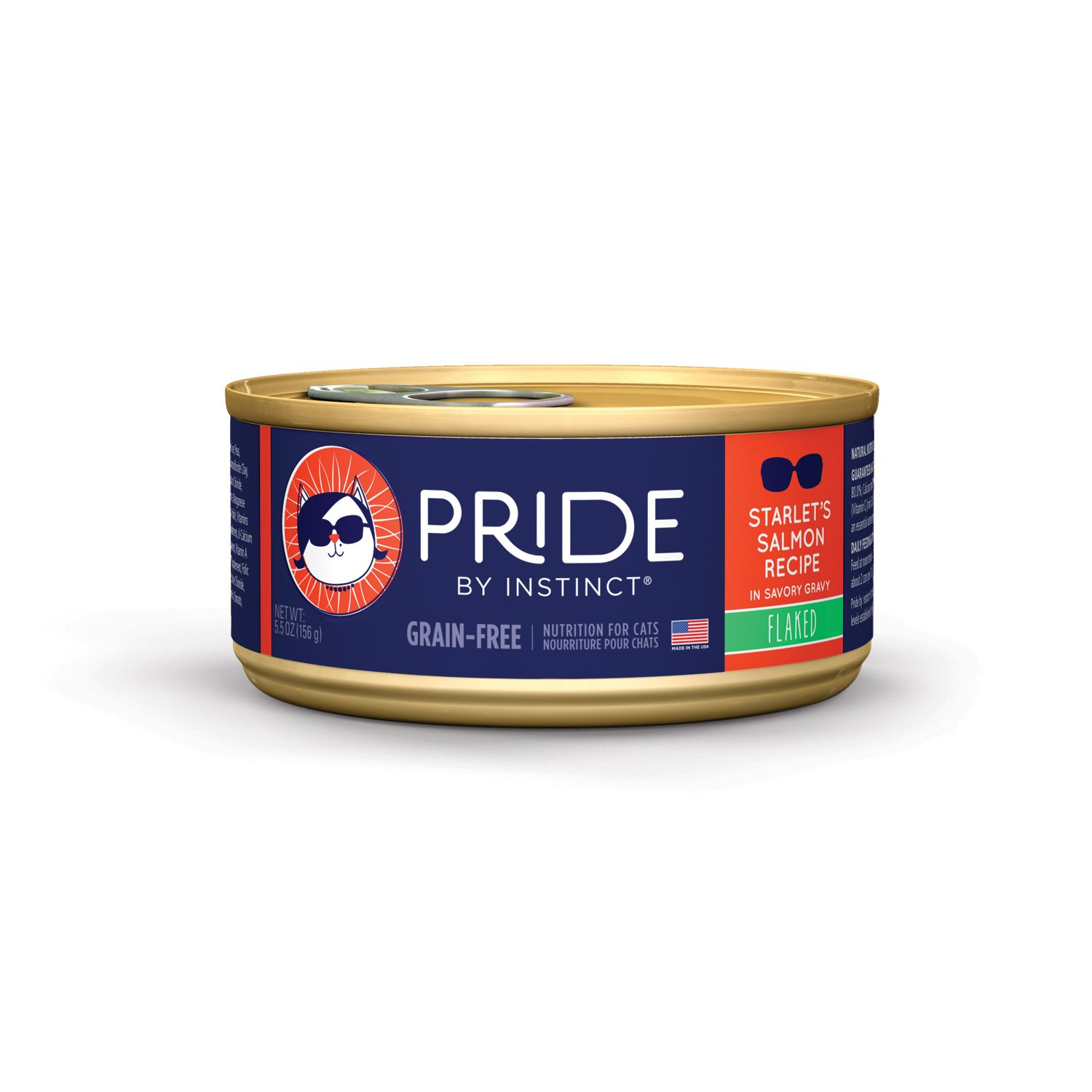 Nature's Variety Pride by Instinct Grain-Free Flaked Starlet's Salmon Canned Cat Food