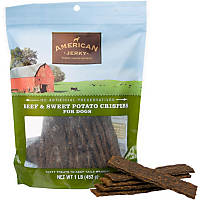 American Jerky Beef & Sweet Potato Crispers Dog Treats