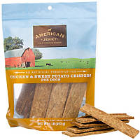 American Jerky Chicken & Sweet Potato Crispers Dog Treats