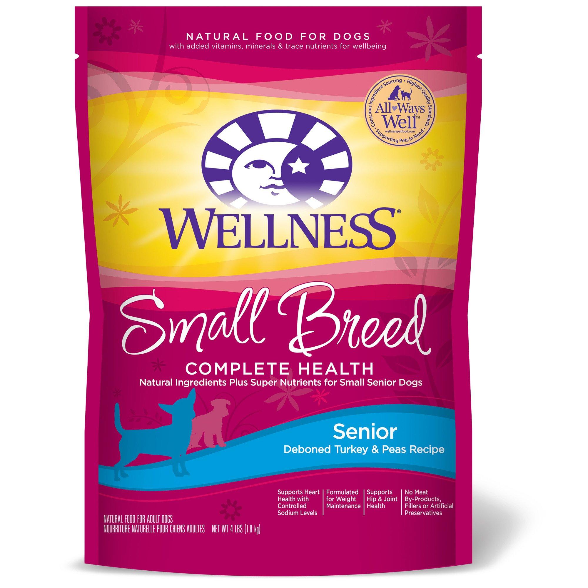 Wellness Small Breed Complete Health Turkey Amp Peas Senior