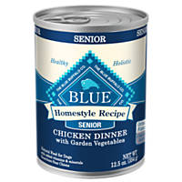 Blue Buffalo Homestyle Recipe Chicken Dinner with Garden Vegetables Senior Canned Dog Food