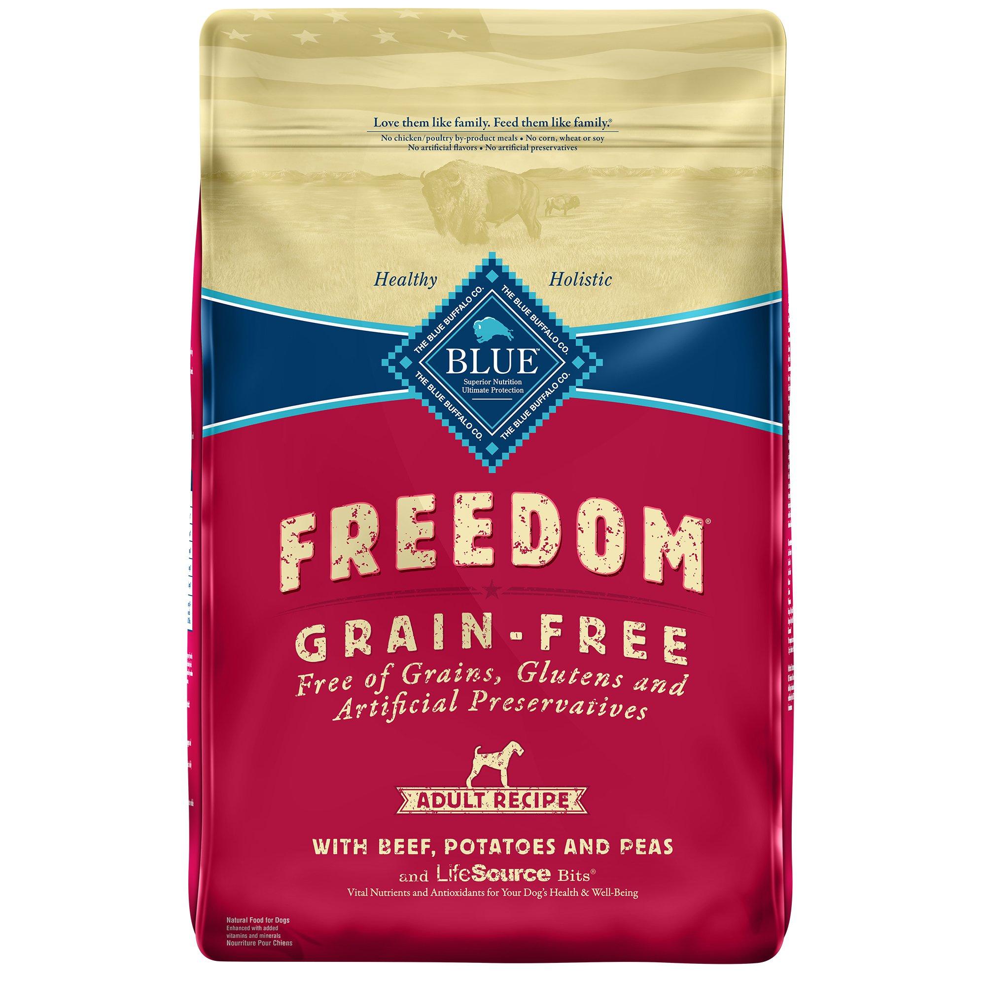 Blue Buffalo Freedom Grain Free Beef Recipe Adult Dog Food