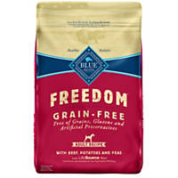 Blue Buffalo Freedom Grain Free Beef Recipe Adult Dog Food