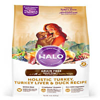 Halo Spot's Stew Healthy Weight Grain Free Turkey Liver & Duck Adult Dog Food