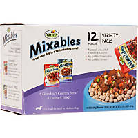 Mixables Variety Packs for Small to Medium Dogs, Grandma's Country Stew and Outback BBQ